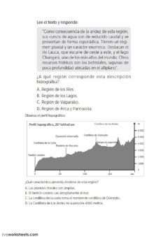 Interactive worksheet Chile 4