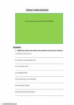 Interactive worksheet Lemon tree