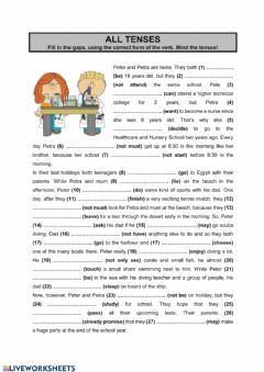 Interactive worksheet All tenses