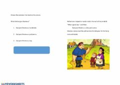 Interactive worksheet English Week 1 - Comprehension