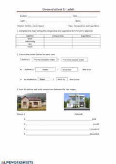 Ficha interactiva Live worksheets fro adults