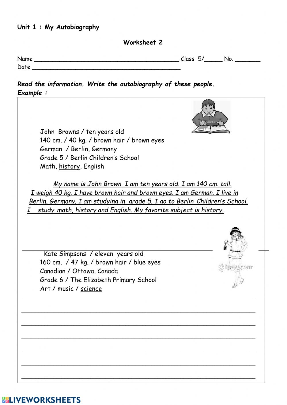 - Ws 2 Unit 1 - Interactive Worksheet