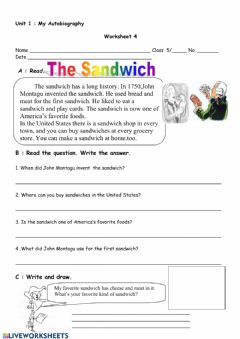 Interactive worksheet unit 1 ws 4