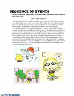 Interactive worksheet Reading Comprehension- Fiction