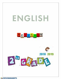 Ficha interactiva English Revision