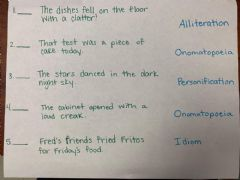 Interactive worksheet Figurative Language