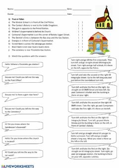 Interactive worksheet Directions