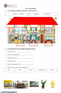 Interactive worksheet Unit 2 5th grade