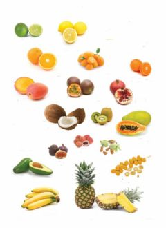 Interactive worksheet Fruta tropical