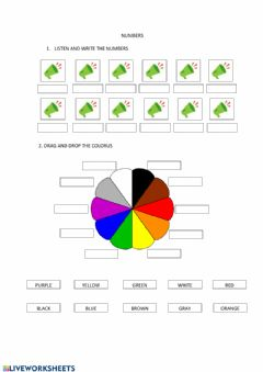 Interactive worksheet Revision 2nd grade