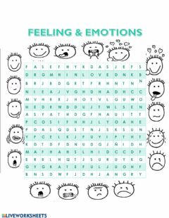Interactive worksheet The moods