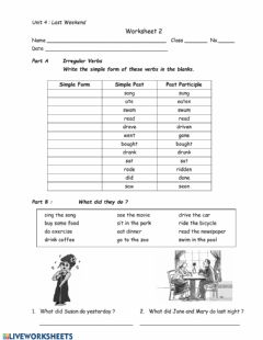 Interactive worksheet ws2 unit4 G.5