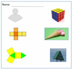 Interactive worksheet Nets