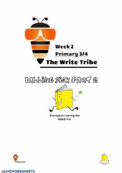 Ficha interactiva Week 2 p3-4 Creative Writing