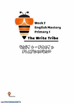 Interactive worksheet Week 7 English Mastery P1
