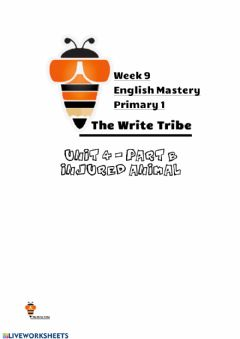 Ficha interactiva Week 9 English Mastery P1