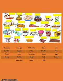 Interactive worksheet Food 2