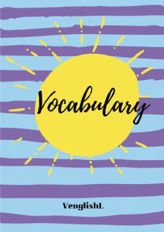 Ficha interactiva Vocabulary cover