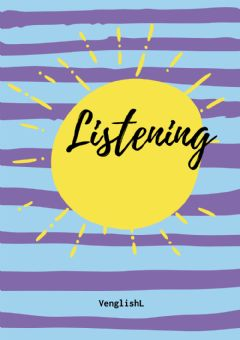 Interactive worksheet Listening cover
