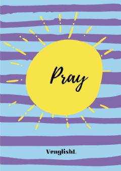 Interactive worksheet Praycover