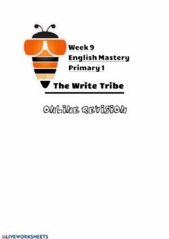 Interactive worksheet Week 9 P1 ONLINE REVISION