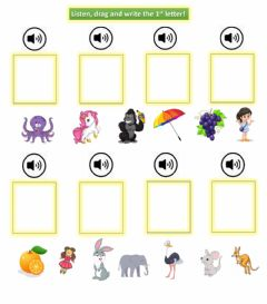 Interactive worksheet Gou