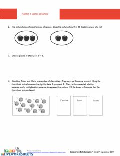 Interactive worksheet Multiplication 3