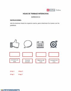 Interactive worksheet Ambientes virtuales
