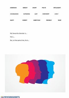 Interactive worksheet Personality Traits