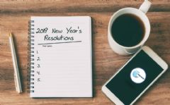 Interactive worksheet New year's resolutions