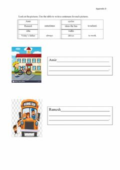 Interactive worksheet Appendix D