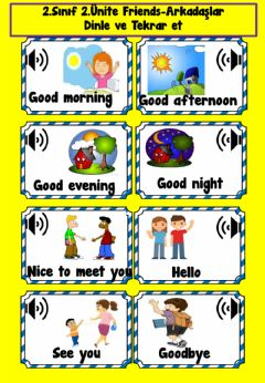 Interactive worksheet 2.2 Friends Listening Exercises