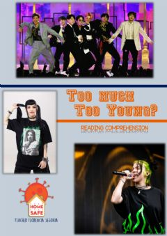 Ficha interactiva -Too much too young?-