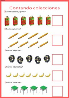 Interactive worksheet Contando objetos