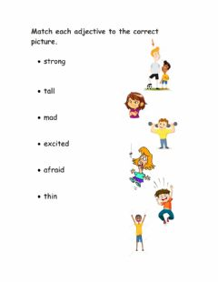 Ficha interactiva Adjectives for people