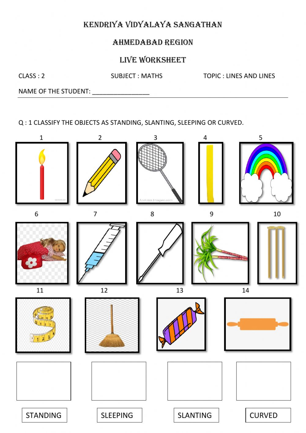 Class 23 maths -lines and lines interactive worksheet With Regard To Vertical Line Test Worksheet