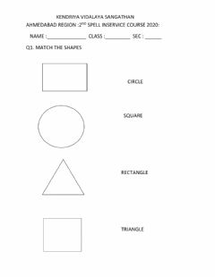 Interactive worksheet Join the shape and number