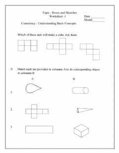 Interactive worksheet Class V, Subtraction