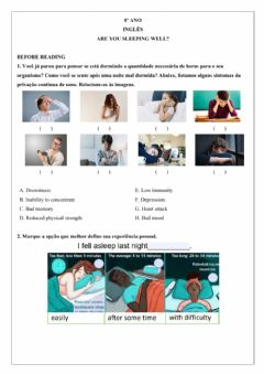Interactive worksheet 8º ano - Semana 25