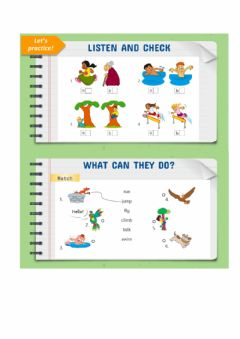 Interactive worksheet What can they do?