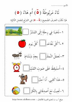 Interactive worksheet ة ام ه