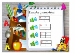 Interactive worksheet Unidades y decenas