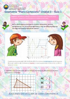 Interactive worksheet PlanoCartesiano-U3-Guia3