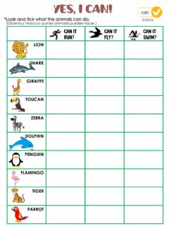 Interactive worksheet Yes, i can