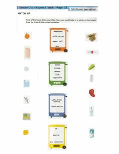 Interactive worksheet Classifying different types of waste