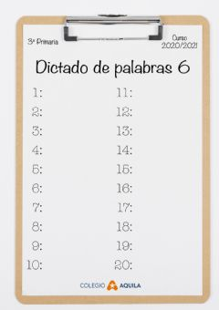 Interactive worksheet Dictado-palabras-06