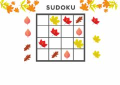 Interactive worksheet Sudoku Tardor