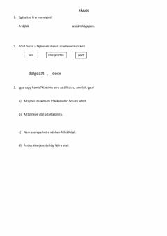 Interactive worksheet Fájl
