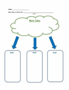 Interactive worksheet ELA - Main Idea and Detail
