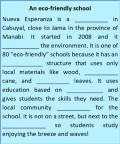 Interactive worksheet Nueva Esperanza school lisening